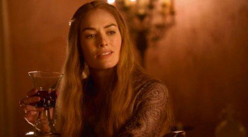 55 Cersei smirking